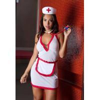 Fantasia Auxiliar De Enfermagem 347 Garota Veneno
