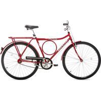 Bicicleta Houston Sf Fv Aro 26 Vermelho