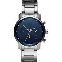 Relógio Mvmt Masculino Aço - D-Mc02-Sblu