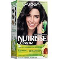 Coloração Nutrisse Garnier 10 Ônix Preto - Unissex-Incolor