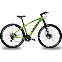 Bicicleta Rino Everest 29 Freio A Disco - Cambios Shimano 21V - Unissex