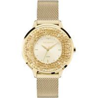 ... Relógio Feminino Technos 2035Mlg 4X Pulseira Aço Dourada - Feminino -Dourado 038dcf8325