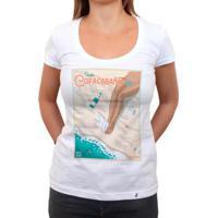 Visite Copacabana 139 Ton - Camiseta Clássica Feminina