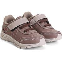 Tênis Infantil Kurz Jogging Velcro E Amarração Masculino - Masculino
