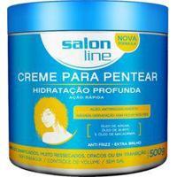 Creme Para Pentear Hidratacao Profunda Salon Line 500G