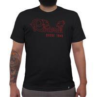Riviera Neon Vermelho - Camiseta Clássica Masculina