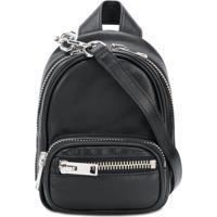 01f69f32f Farfetch; Alexander Wang Mini Backpack - Preto