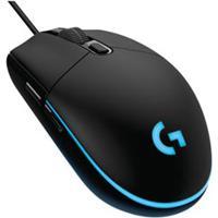 Mouse Óptico Para Jogos Com 6 Botões Personalizáveis Preto - Logitech G - G203