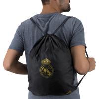Gym Sack Real Madrid 19/20 Adidas - Preto/Ouro