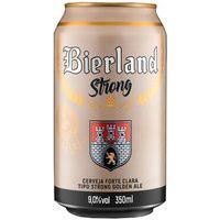 Cerveja Bierland Strong Golden Ale Lata 350Ml