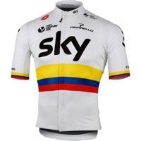 Camisa Castelli Podio Pro Sky Team - Masculino