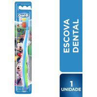 Escova Dental Infantil Oral B Mickey 1 Unidade