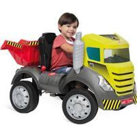 Mini Caminhão Brutus Com Pedal - Bandeirante - Unissex-Incolor