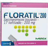 Floratil Pediátrico 200Mg Natulab 6 Envelopes