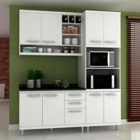 Cozinha Compacta New Vitoria 8 Pt 3 Gv Branco