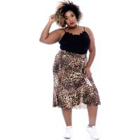 Saia Guepardo Plus Size