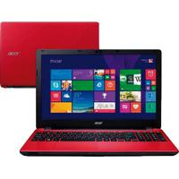 "Notebook Acer Aspire Red E5-571-36Zv - Intel Core I3-4030U - Hd 1Tb - Ram 4Gb - Led 15.6"" - Bluetooth - Windows 8.1"