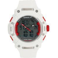 Relógio Speedo 80604G0Evnp1 Branco/Vermelho