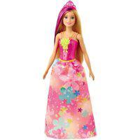 Boneca Barbie - Barbie Dreamtopia - Princesa Loira - Vestido Flores - Mattel