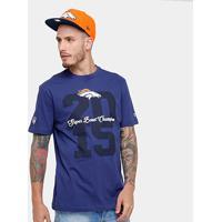 Camiseta Nfl Denver Broncos New Era Piquet Masculina - Masculino