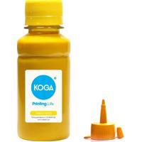 Tinta Para Epson L220 Bulk Ink Sublimática Yellow 100Ml Koga