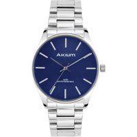 Relógio Akium Masculino Aço - Tmg7138 - Silver