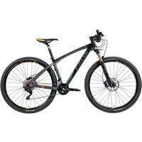Bicicleta Mtb Caloi Carbon Ibex Aro 29 - Shimano Deore/Xt Suspensão Rock Shox - Unissex