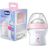 Mamadeira Step Up 150Ml Fluxo Normal Rosa (0M+) - Chicco