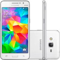 "Smartphone Samsung Galaxy Grand Prime G530M - Branco - 8Gb - 8Mp - Tela 5"" - Android 4.4"