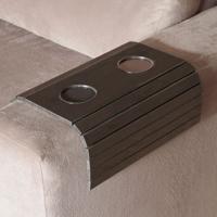 Esteira Flex Para Sofá Com Copos Tabaco