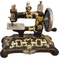 Máquina De Costura Retro Em Resina Kasa Ideia - Tricae