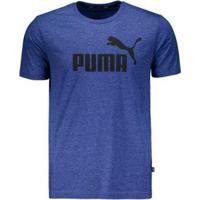 Camiseta Puma Essentials - Masculino-Azul