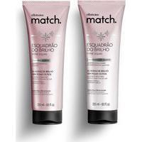 Combo Match Esquadrão Do Brilho: Shampoo 250Ml + Condicionador 250Ml