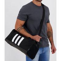 Bolsa Adidas Duffel 3-Stripes Pequena Preta