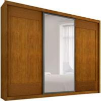 Guarda-Roupa Casal Com Espelho Ravena Imbuia 3 Pt 6 Gv