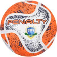 Bola De Futsal Penalty Max 200 Termotec Viii - Branco Coral 7a340815572fd