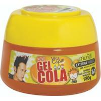 Gel De Cabelo 180G Vita Capili Cola Pote - Laranja - Unissex