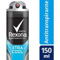 Desodorante Antitranspirante Rexona Xtracool Masculino Aerosol 150Ml - Masculino-Incolor