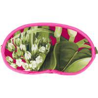 F.R.S For Restless Sleepers Máscara Para Dormir De Seda Com Estampa Floral - Rosa