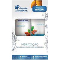 Kit Head & Shoulders Shampoo Hidratação 200Ml + Condicionador Hidratação 170Ml