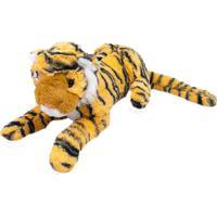Pelúcia Minas De Presentes Tigre Marrom - Kanui