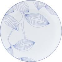 Jogo 6 Pratos De Jantar De Porcelana 27Cm Autumn Tree (Blue) - Unissex