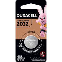 Pilhas Tipo Moeda De Lítio Duracell 2032 1 Unidade