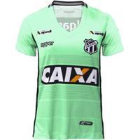 Camisa Goleiro Topper Ceará Oficial Ii 2018 Feminina - Feminino