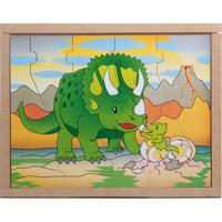 Conjunto De Quebra-Cabeças Animais & Filhotes Dinossaurocarlu