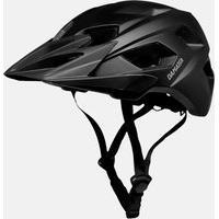 Capacete Enduro Bike Preto Damatta In-Mold Com Regulagem Traseira