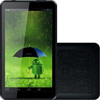 Tablet Tela 7, Quad Core, Wifi, Android 4.4, 1.3Mp, 8Gb, Preto - Atb-440 - Amvox