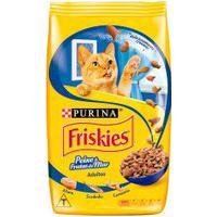 Ração Para Gatos Friskies Adulto Sabor Peixe E Frutos Do Mar Com 3Kg