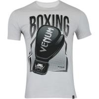 Camiseta Venum Boxing - Masculina - Cinza