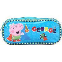 Estojo Escolar Infantil Xeryus George Let'S Play - Feminino
